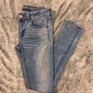 Aeo low rise jegging
